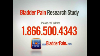 Bladder Pain Research Study TV Spot for Women - Thumbnail 9