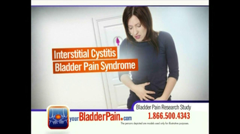 Bladder Pain Research Study TV Spot for Women