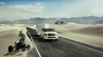 Infiniti QX TV Spot, 'Best Summer Ever' - Thumbnail 4