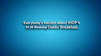 IHOP Weekly Classic Breakfast TV Spot, 'Sound Bites' - Thumbnail 3