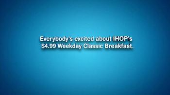 IHOP Weekly Classic Breakfast TV Spot, 'Sound Bites' - Thumbnail 4