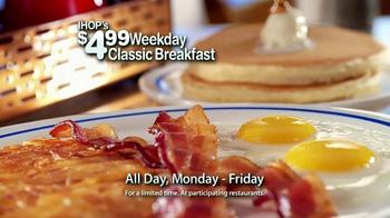 IHOP Weekly Classic Breakfast TV Spot, 'Sound Bites' - Thumbnail 8
