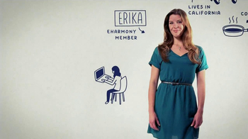 eHarmony TV Spot Featuring Erika from California