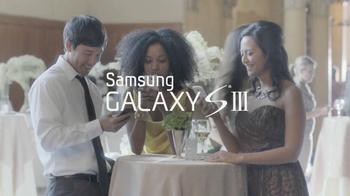 Samsung Galaxy S III TV Spot, 'Wedding' - Thumbnail 9