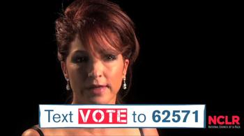 NCLR TV Spot 'Mobilize to Vote' Featuring Eva Longoria - 26 commercial airings
