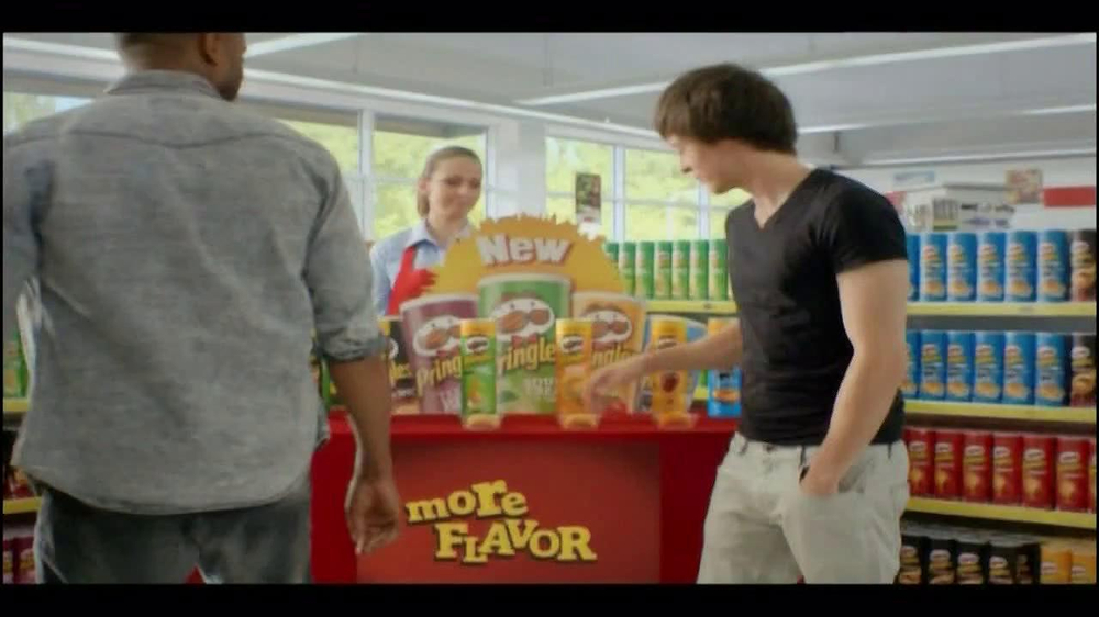 Pringles TV Commercial, 'Bursting With More Flavor'