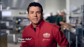 Papa John's TV Spot for Buffalo Chicken Pizza - Thumbnail 1