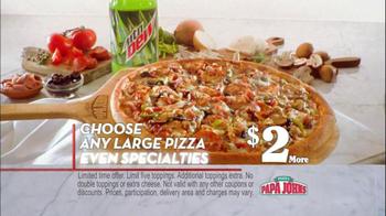 Papa John's TV Spot for Buffalo Chicken Pizza - Thumbnail 7