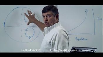 Liberty University TV Spot for Online Degrees - Thumbnail 1
