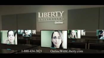 Liberty University TV Spot for Online Degrees - Thumbnail 2