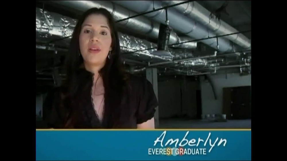 Everest TV Commercial Featuring Amberlyn