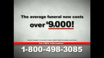 Funeral Advantage TV Spot for Life Insurance - Thumbnail 4