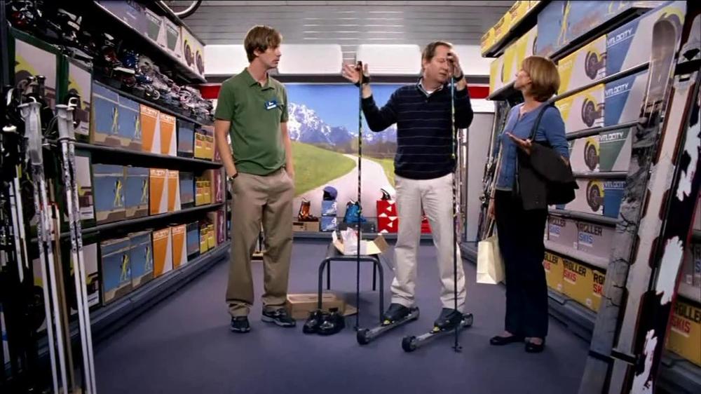 Target TV Commercial for Advil Skiing