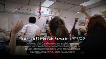 Obama for America TV Spot Featuring Bill Clinton - Thumbnail 8