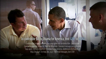 Obama for America TV Spot Featuring Bill Clinton - Thumbnail 9