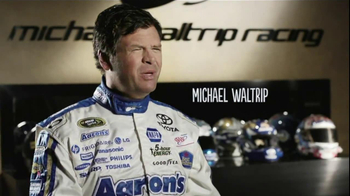 Aaron's TV Spot for Michael Waltrip and Mark Martin Corrections - Thumbnail 3