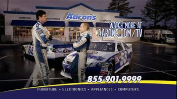 Aaron's TV Spot for Michael Waltrip and Mark Martin Corrections