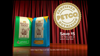 PETCO TV Spot, 'Natural Choice, Eukanuba and Select Diet'