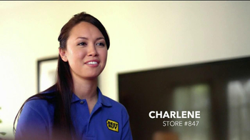 Best Buy TV Spot for LG LED Cinema 3D Blue-Shirt Test