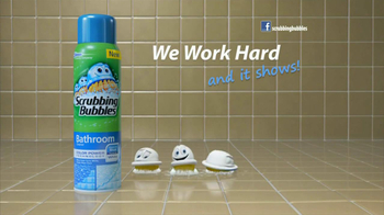 Scrubbing Bubbles TV Spot for Color Power Bathroom Cleaner - Thumbnail 8