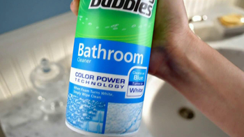 Scrubbing Bubbles TV Spot for Color Power Bathroom Cleaner - Thumbnail 4