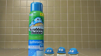Scrubbing Bubbles TV Spot for Color Power Bathroom Cleaner - Thumbnail 7