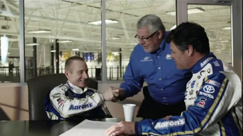 Aaron's TV Spot for No Credit Needed Featuring Mark Martin and Michael Walt - Thumbnail 1