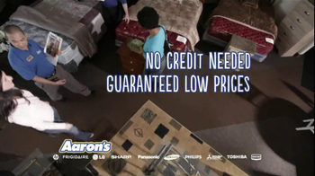 Aaron's TV Spot for No Credit Needed Featuring Mark Martin and Michael Walt - Thumbnail 5