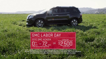 GMC Yukon Labor Day TV Spot - 213 commercial airings