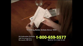 Art Instruction School TV Spot for Creating Better Artists