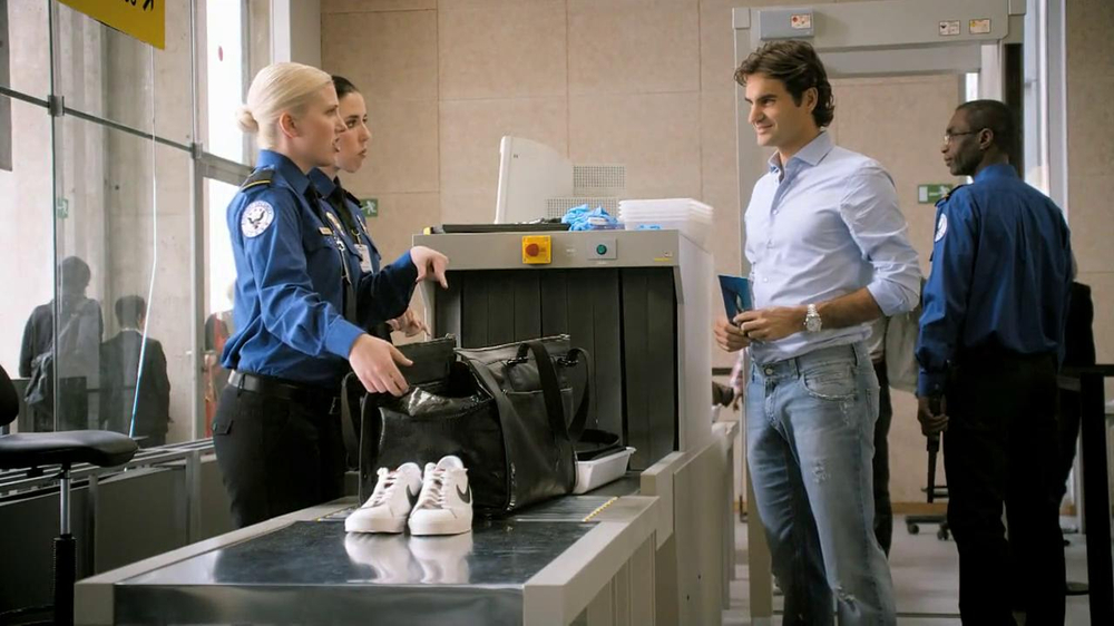 Lindt TV Commercial, 'Airport Screening' Featuring Roger Federer