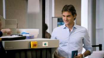 Lindt TV Spot, 'Airport Screening' Featuring Roger Federer - Thumbnail 2