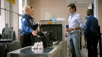 Lindt TV Spot, 'Airport Screening' Featuring Roger Federer - 51 commercial airings