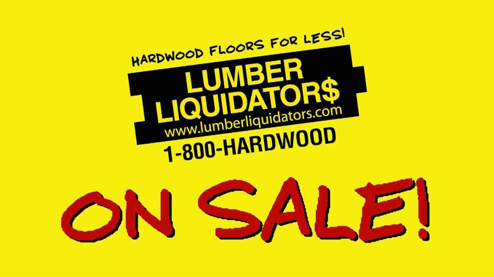 Lumber Liquidators TV Commercial, 'Incredible Flooring Deals'