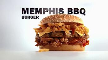 Carl's Jr Memphis BBQ Burger TV Spot, 'Cookoff' - Thumbnail 10