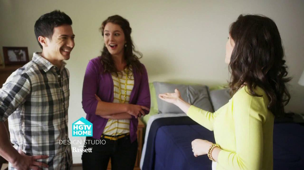 Bassett Tv Commercial For Hgtv Home Design Studio Bedroom Ispot Tv