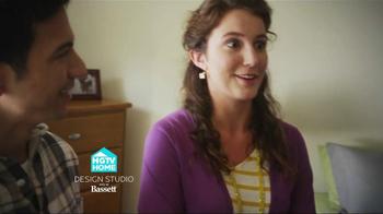 Bassett TV Spot for HGTV Home Design Studio Bedroom - Thumbnail 3