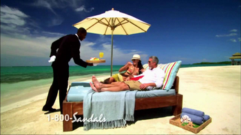 Sandals Resorts TV Spot, 'Time of Your Life' - Thumbnail 1