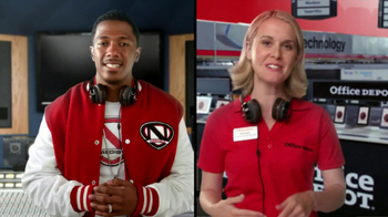 Office Depot TV Spot, 'Depot Time:Monster Headphones' Featuring Nick Cannon - Thumbnail 3