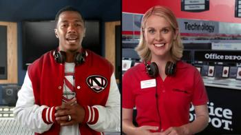 Office Depot TV Spot, 'Depot Time:Monster Headphones' Featuring Nick Cannon - Thumbnail 4
