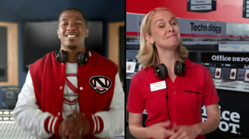 Office Depot TV Spot, 'Depot Time:Monster Headphones' Featuring Nick Cannon - Thumbnail 6