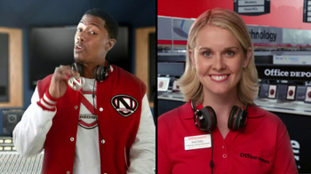 Office Depot TV Spot, 'Depot Time:Monster Headphones' Featuring Nick Cannon - Thumbnail 8