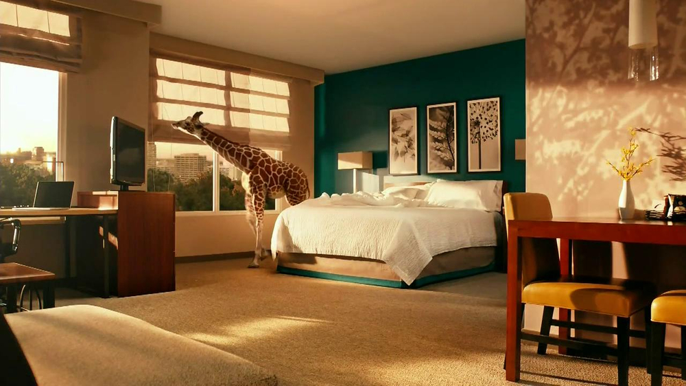 Residence Inn TV Commercial, 'Giraffe'