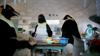 Kid Cuisine Popcorn Chicken TV Spot, 'Penguins' - Thumbnail 5