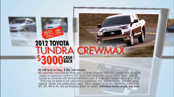 Toyota TV Spot, 'Red Tag Clearance Event' - Thumbnail 6