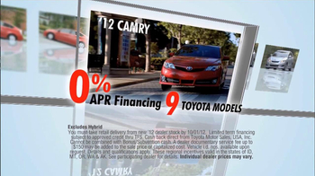 Toyota TV Spot, 'Red Tag Clearance Event' - Thumbnail 4