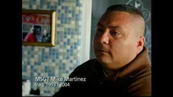 USO TV Spot, 'TBI with Mike Martinez'
