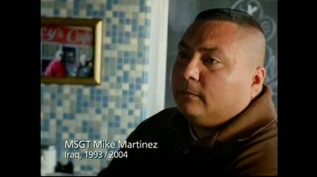 USO TV Spot, 'TBI with Mike Martinez'
