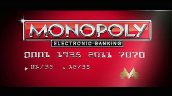 Monopoly Electronic Banking TV Spot, 'The World Can Be Yours!' Song Jessie J - Thumbnail 1