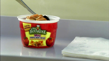 Chef Boyardee Micro Beef Ravioli Cups TV Spot 'Time Out' - Thumbnail 8